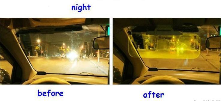 Bán kính chống chói cho ô tô ngày và đêm