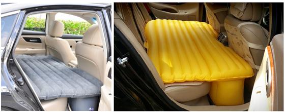 Nệm hơi ô tô có nhiều màu để bạn lựa chọn theo sở thích của mình