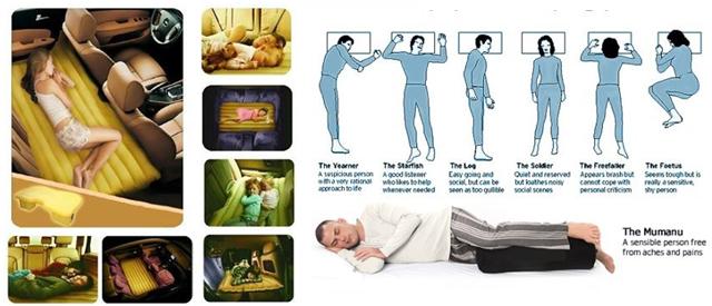 Nệm hơi ô tô giúp cả gia đình được nằm thẳng lưng, duy trì sự khỏe mạnh dù bạn đang đi về quê hay đi picnic, đi phượt